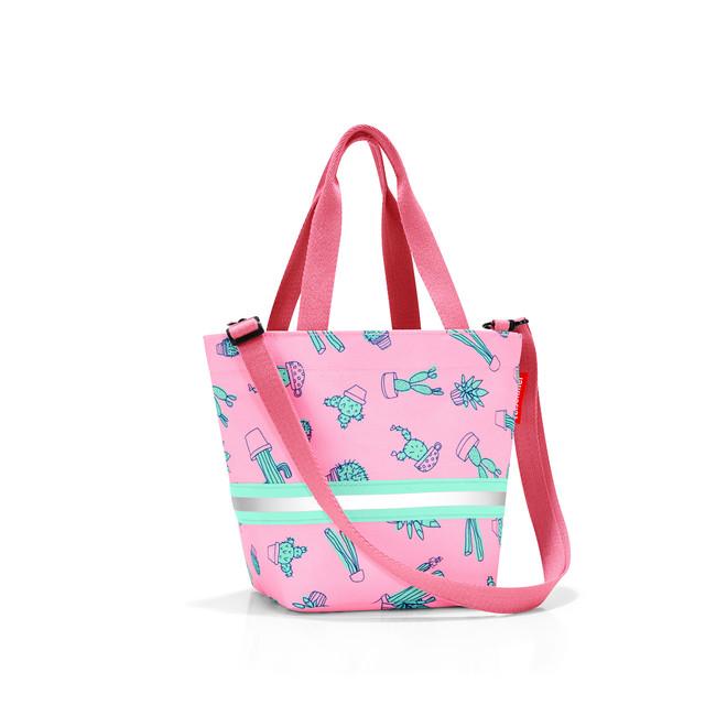 84ba49b0ca70e detská taška reisenthel shopper XS cactus pink - ORIGINALREISENTHEL.SK