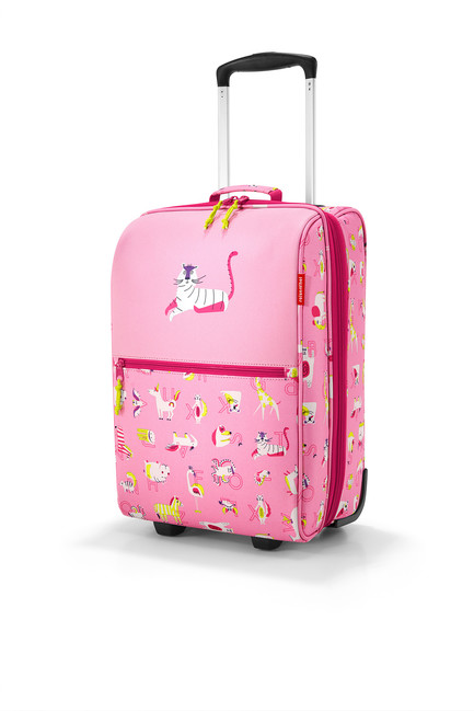 72cd3be89599e detský kufor reisenthel trolley XS cactus ABC friends pink ...